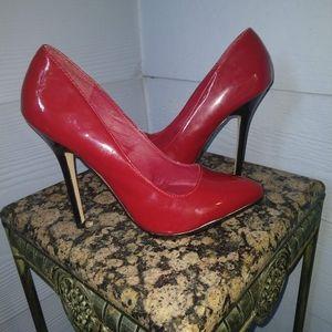 NWOB Jessica Simpson red heels 6.5